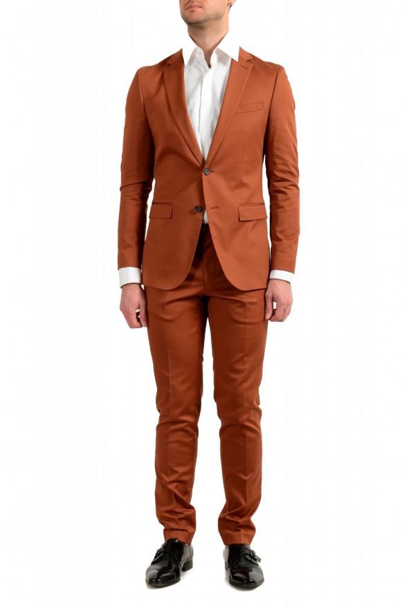 """Hugo Boss Men's """"Novan6/Ben2"""" Slim Fit Brown Two Button Suit"""