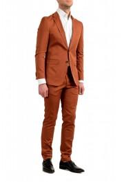 "Hugo Boss Men's ""Novan6/Ben2"" Slim Fit Brown Two Button Suit: Picture 2"