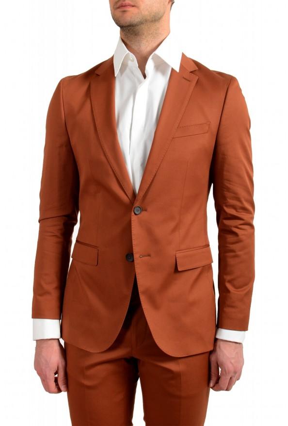 "Hugo Boss Men's ""Novan6/Ben2"" Slim Fit Brown Two Button Suit: Picture 4"