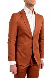 "Hugo Boss Men's ""Novan6/Ben2"" Slim Fit Brown Two Button Suit: Picture 5"