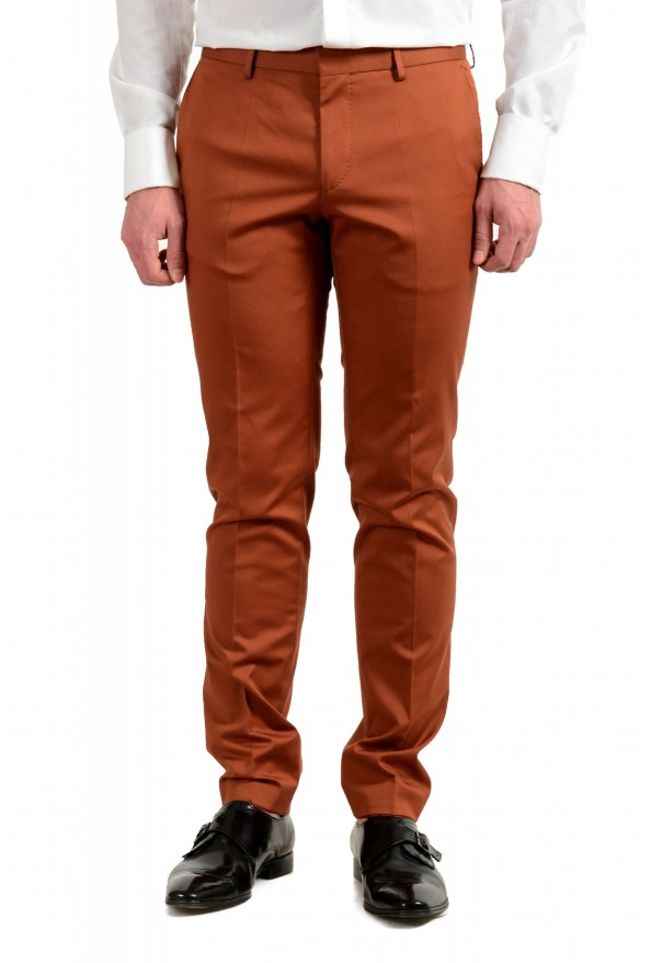 "Hugo Boss Men's ""Novan6/Ben2"" Slim Fit Brown Two Button Suit: Picture 8"