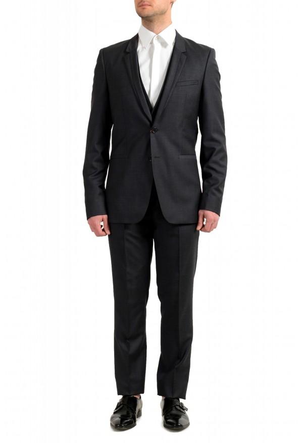 """Hugo Boss Men's """"Arti/Hesten183V1"""" Extra Slim Fit 100% Wool Three Piece Suit"""