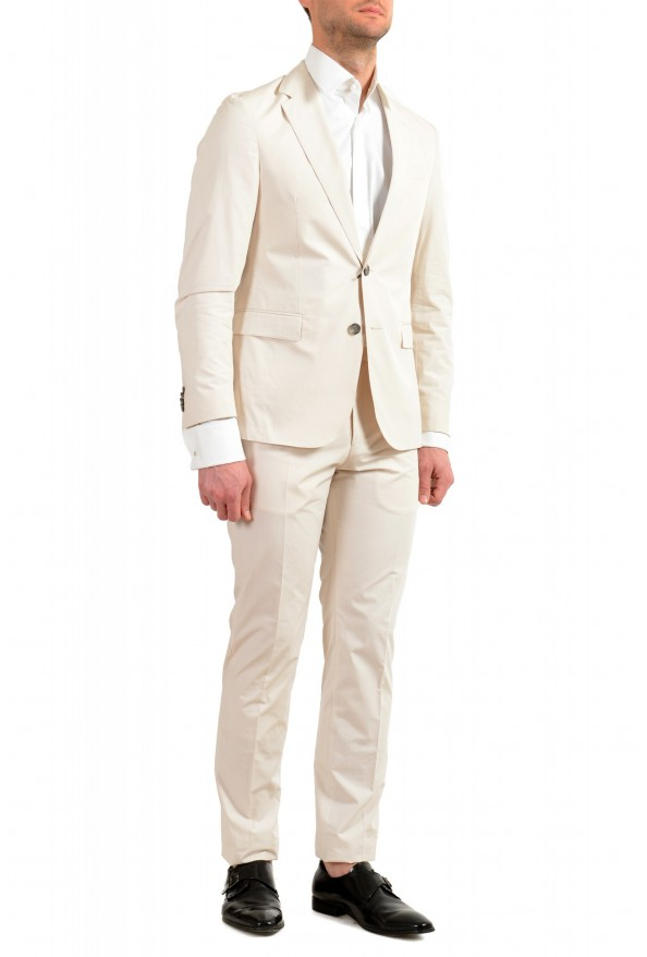 """Hugo Boss Men's """"Nylen1/Pery1"""" Slim Fit Stone Beige Two Button Suit: Picture 2"""
