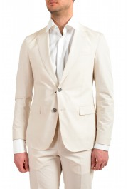 """Hugo Boss Men's """"Nylen1/Pery1"""" Slim Fit Stone Beige Two Button Suit: Picture 4"""