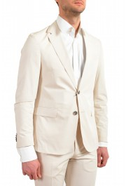 """Hugo Boss Men's """"Nylen1/Pery1"""" Slim Fit Stone Beige Two Button Suit: Picture 5"""
