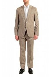 """Hugo Boss Men's """"Johnstons5/Lenon1"""" Regular Fit 100% Wool Two Button Suit"""