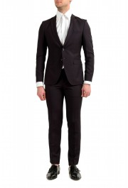"Hugo Boss Men's ""Reymond/Wenten"" Extra Slim Fit Wool Mohair Two Button Suit"