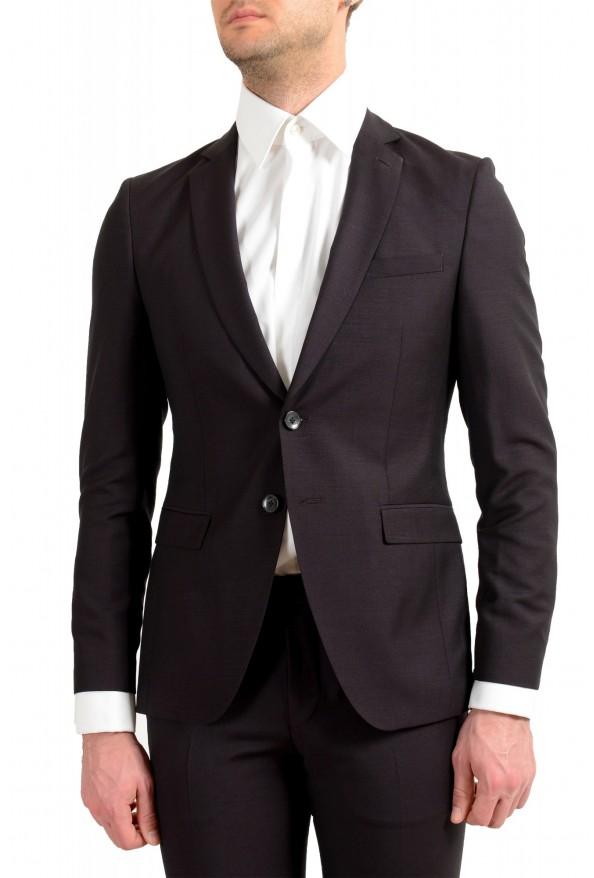 "Hugo Boss Men's ""Reymond/Wenten"" Extra Slim Fit Wool Mohair Two Button Suit: Picture 4"