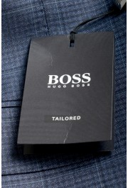 "Hugo Boss Men's ""T-Jarrod/Lone"" Regular Fit 100% Wool Plaid Two Button Suit: Picture 11"