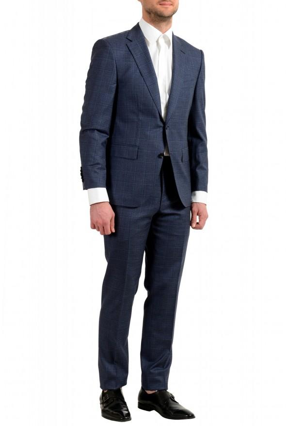 "Hugo Boss Men's ""T-Jarrod/Lone"" Regular Fit 100% Wool Plaid Two Button Suit: Picture 2"