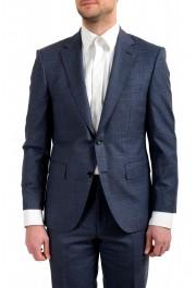 "Hugo Boss Men's ""T-Jarrod/Lone"" Regular Fit 100% Wool Plaid Two Button Suit: Picture 4"
