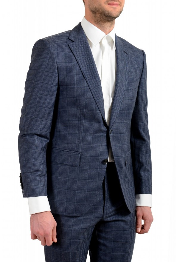 "Hugo Boss Men's ""T-Jarrod/Lone"" Regular Fit 100% Wool Plaid Two Button Suit: Picture 5"
