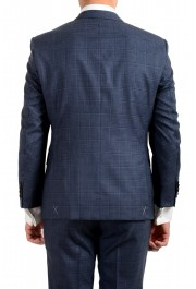 "Hugo Boss Men's ""T-Jarrod/Lone"" Regular Fit 100% Wool Plaid Two Button Suit: Picture 6"