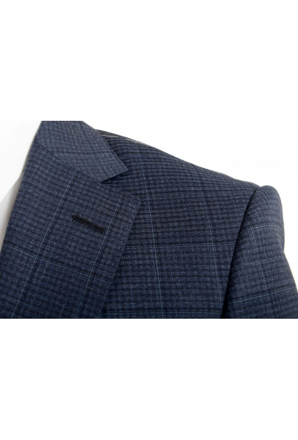 "Hugo Boss Men's ""T-Jarrod/Lone"" Regular Fit 100% Wool Plaid Two Button Suit: Picture 7"