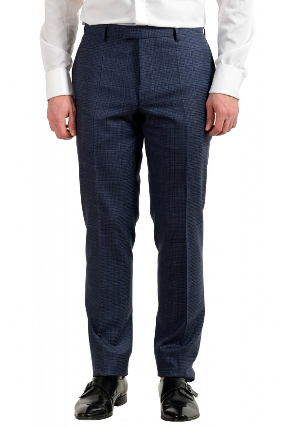 "Hugo Boss Men's ""T-Jarrod/Lone"" Regular Fit 100% Wool Plaid Two Button Suit: Picture 8"