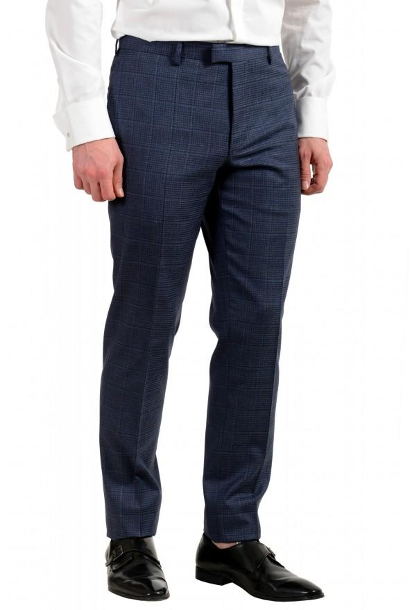 "Hugo Boss Men's ""T-Jarrod/Lone"" Regular Fit 100% Wool Plaid Two Button Suit: Picture 9"