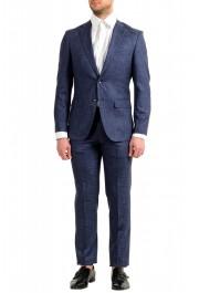 """Hugo Boss Men's """"Johnstons5/Lenon1"""" Regular Fit Silk Wool Two Button Suit"""