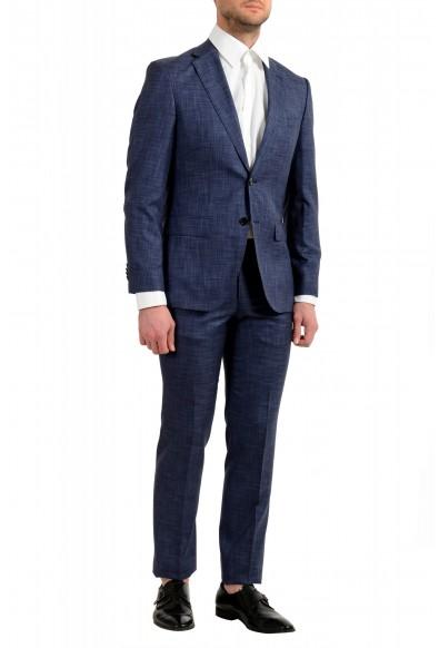 "Hugo Boss Men's ""Johnstons5/Lenon1"" Regular Fit Silk Wool Two Button Suit: Picture 2"