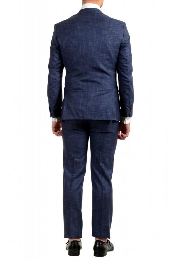 "Hugo Boss Men's ""Johnstons5/Lenon1"" Regular Fit Silk Wool Two Button Suit: Picture 3"