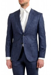 "Hugo Boss Men's ""Johnstons5/Lenon1"" Regular Fit Silk Wool Two Button Suit: Picture 4"