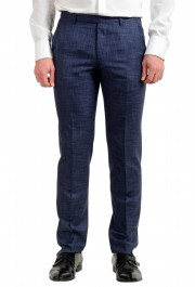 "Hugo Boss Men's ""Johnstons5/Lenon1"" Regular Fit Silk Wool Two Button Suit: Picture 8"