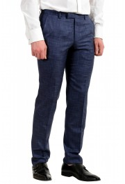 "Hugo Boss Men's ""Johnstons5/Lenon1"" Regular Fit Silk Wool Two Button Suit: Picture 9"