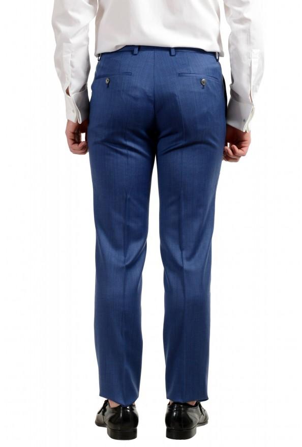 "Hugo Boss Men's ""Hutson5/Gander2"" Slim Fit 100% Wool Blue Two Button Suit: Picture 10"