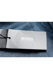"Hugo Boss Men's ""Hutson5/Gander2"" Slim Fit 100% Wool Blue Two Button Suit: Picture 11"