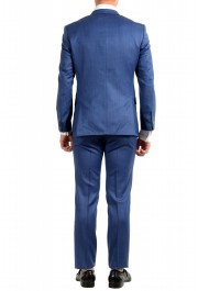 "Hugo Boss Men's ""Hutson5/Gander2"" Slim Fit 100% Wool Blue Two Button Suit: Picture 3"