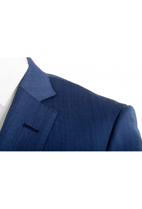 "Hugo Boss Men's ""Hutson5/Gander2"" Slim Fit 100% Wool Blue Two Button Suit: Picture 7"