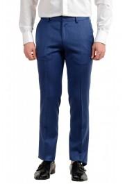 "Hugo Boss Men's ""Hutson5/Gander2"" Slim Fit 100% Wool Blue Two Button Suit: Picture 8"