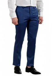 "Hugo Boss Men's ""Hutson5/Gander2"" Slim Fit 100% Wool Blue Two Button Suit: Picture 9"