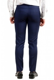 """Hugo Boss Men's """"Reyno4/Wave2"""" Extra Slim Fit 100% Wool Blue Two Button Suit: Picture 10"""