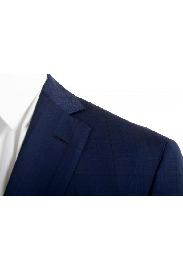 """Hugo Boss Men's """"Reyno4/Wave2"""" Extra Slim Fit 100% Wool Blue Two Button Suit: Picture 7"""