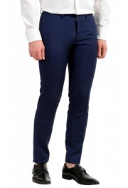 """Hugo Boss Men's """"Reyno4/Wave2"""" Extra Slim Fit 100% Wool Blue Two Button Suit: Picture 9"""