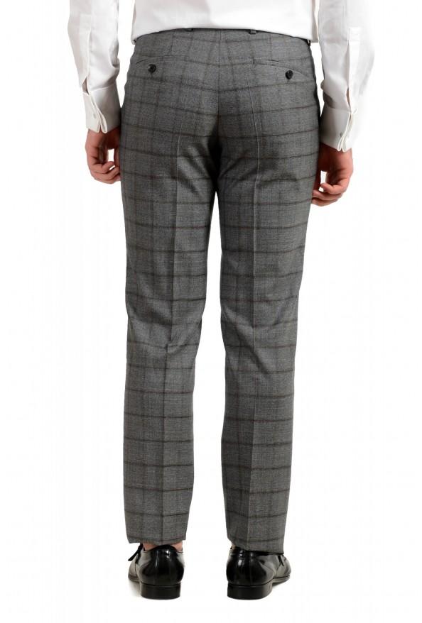 "Hugo Boss Men's ""Johnstons5/Lenon1"" Regular Fit 100% Wool Plaid Two Button Suit: Picture 10"