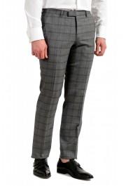 "Hugo Boss Men's ""Johnstons5/Lenon1"" Regular Fit 100% Wool Plaid Two Button Suit: Picture 9"