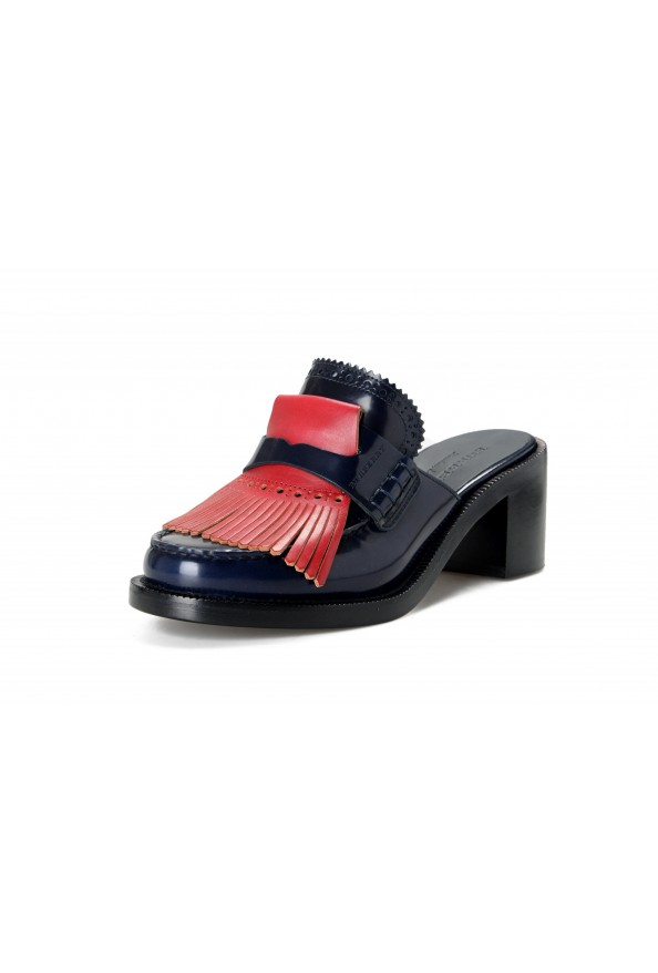Burberry Women's BECKSHILL Leather Heeled Mules Sandals Shoes
