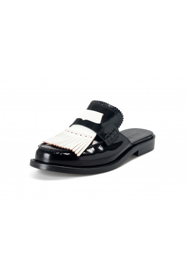 Burberry Women's BECKSHILL Multi-Color Polished Leather Flip Flop Shoes