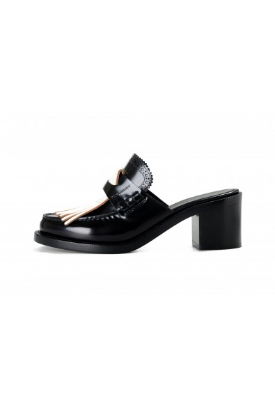 Burberry Women's BECKSHILL Leather Heeled Mules Sandals Shoes: Picture 2