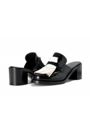 Burberry Women's BECKSHILL Leather Heeled Mules Sandals Shoes: Picture 8