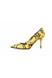 Versace Women's Barocco Print High Heel Pumps Shoes: Picture 2