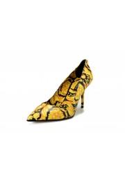 Versace Women's Barocco Print High Heel Pumps Shoes