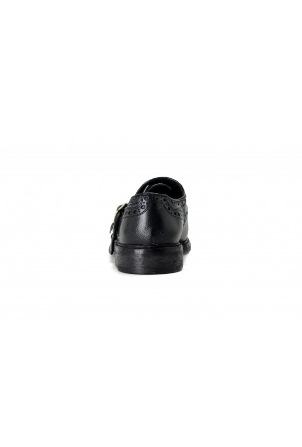 Burberry Women's DELMAR Black Leather Loafers Slip On Shoes: Picture 3
