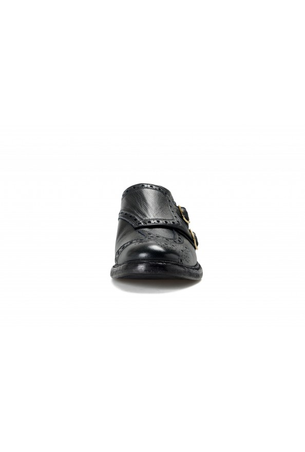 Burberry Women's DELMAR Black Leather Loafers Slip On Shoes: Picture 5