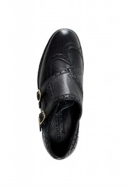 Burberry Women's DELMAR Black Leather Loafers Slip On Shoes: Picture 7