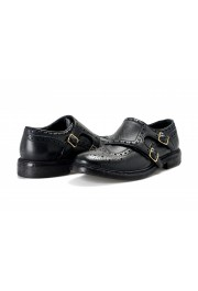 Burberry Women's DELMAR Black Leather Loafers Slip On Shoes: Picture 8