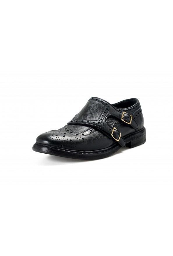 Burberry Women's DELMAR Black Leather Loafers Slip On Shoes