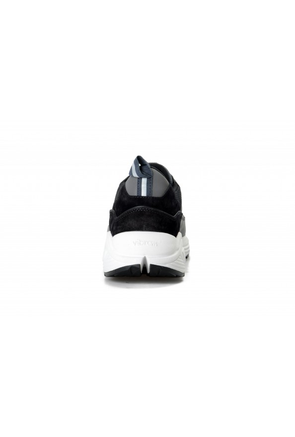 Car Shoe By Prada Men's Black Suede Leather Fashion Sneakers Shoes: Picture 3