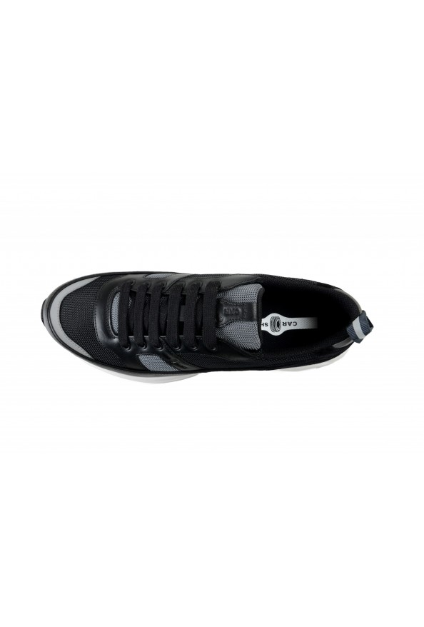 Car Shoe By Prada Men's Black Suede Leather Fashion Sneakers Shoes: Picture 7